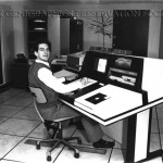 Genigraphics 100B Interactive Workstation, circa 1981